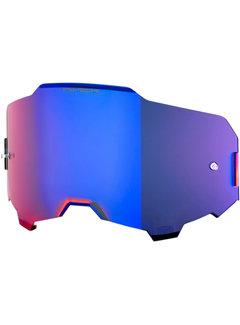 100 % Armega Glas - Ersatzglas Hiper Blau| Verspiegelt
