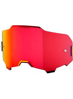 100 % Armega Glas - Ersatzglas Hiper Rot| Verspiegelt