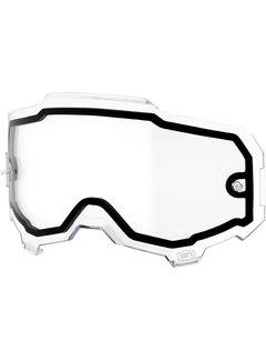 100 % Armega Glas - Ersatzglas Dual Clear