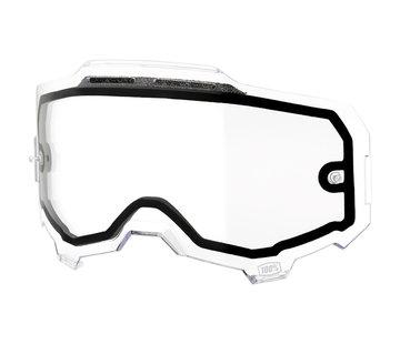 100 % Armega Glas - Ersatzglas Vented Dual Clear