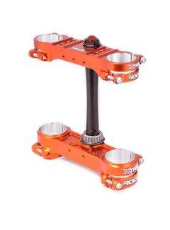 Xtrig Xtrig Gabelbrücken - Kit ROCS Pro Offset 20-22 orange