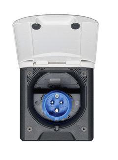 Movera Einspeisungsstecker CEE17 ABL mit Magnetdeckel