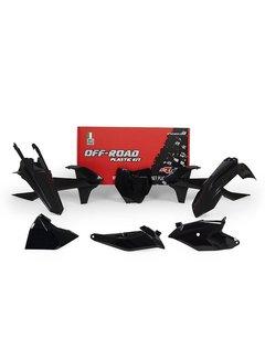 R-tech Plastikkit KTM SX 85 18- schwarz 5tlg