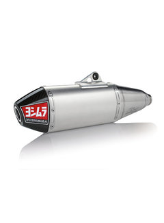 Yoshimura RS-4 Signature Series Stainless Steel Full Exhaust System Aluminum Slip-On/Carbon End Cap Yamaha YZ450F
