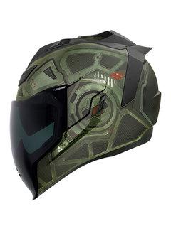 Icon Airflite ™ Helm Blockchain grün