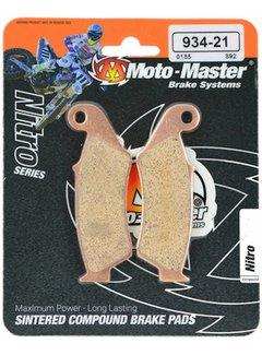Motomaster Bremsbelege Brakepad vorne für Kawasaki KX250F / KX450F Bj. 04-20