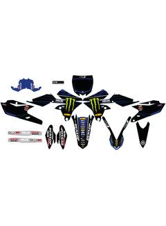 D´Cor Visuals `20 Star Monster Energy Yamaha Dekorsatz für YZ250F