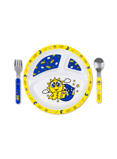 VR46 Kinderbesteck Tisch - Set multi