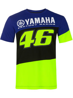 VR46 Yamaha Rossi Factory Racing T-Shirt Dual