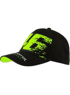 VR46 Cap Kappe Valentino Rossi Monster Dual schwarz