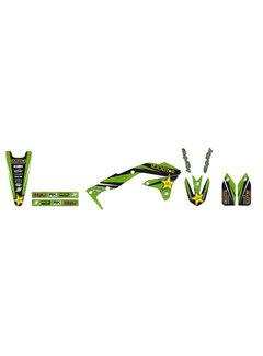 Blackbird Dekorsatz Graphic Kit Rockstar für Kawasaki KX250F