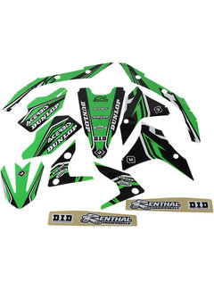 Blackbird Dekorsatz Graphic Kit Pro Team Series 4 für Kawasaki KX250F  Bj. 17-19