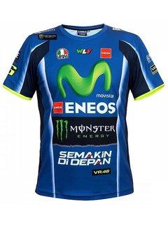 VR46 Yamaha Racing Rossi Replica Herrn T-Shirt