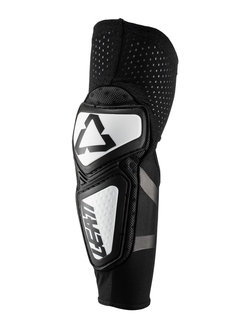 Leatt Kinder Elbogenschützer Brace Black/White  Contour Youth Elbow Guards