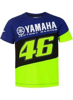 VR46 Kinder Rossi Dual Royal blue T-Shirt