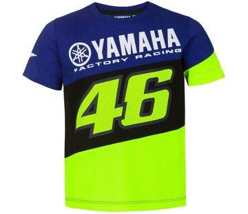 VR46 Kinder Rossi Dual Royal blue T-Shirt