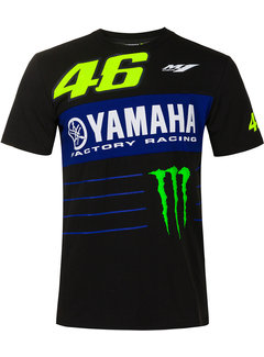 VR46 Yamaha Rossi Factory Racing T-Shirt Dual Powerline
