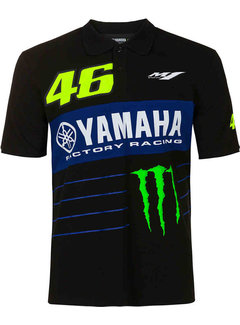 VR46 Yamaha Rossi Factory Racing Polo Shirt Dual Powerline