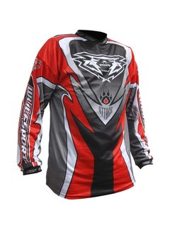 Wulfsport MX Enduro Jersey Attack Race Shirt rot