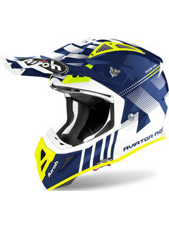 Airoh Helm Aviator ACE Nemesi blau glänzend