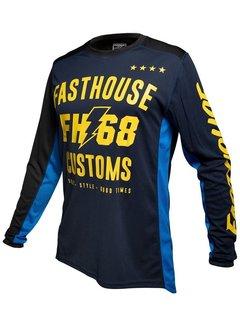 Fasthouse Worx 68 Jersey blau gelb