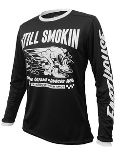 Fasthouse Jersey Still Smokin Schwarz