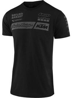 Troy Lee Designs Herren T-Shirt Team KTM Tee schwarz 2020