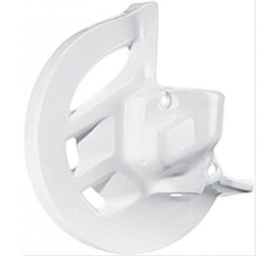 Bremsscheiben Protektor WEISS vorne Honda CR125R CR250R Bj.  95-07 CRF450R Bj. 02-08