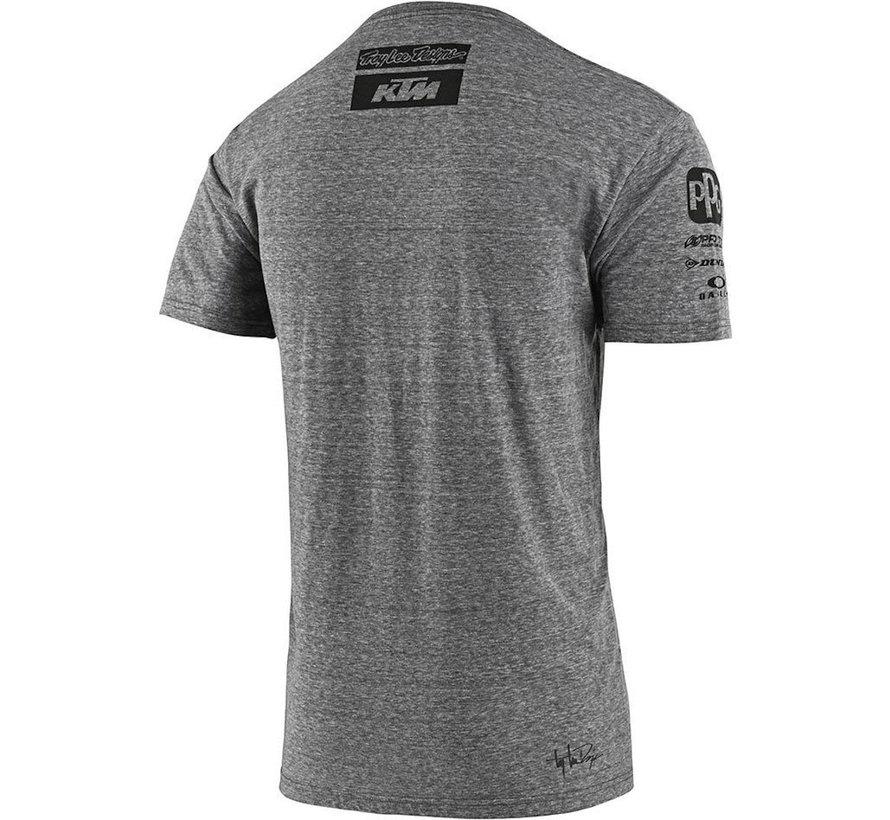 Herren T-Shirt Team KTM Tee grau 2020