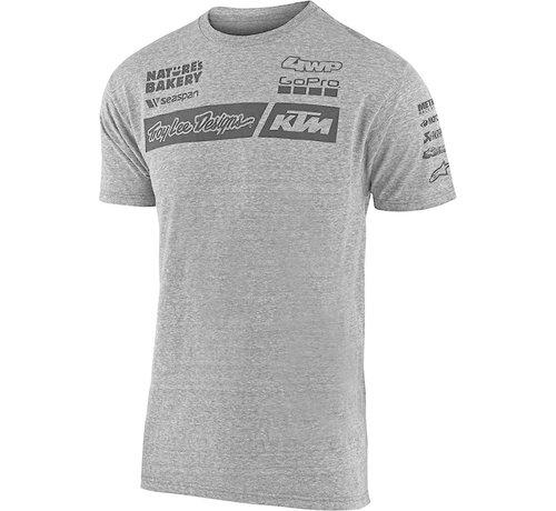 Troy Lee Designs Herren T-Shirt Team KTM Tee grau 2020