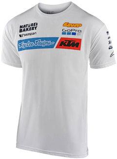 Troy Lee Designs Herren T-Shirt Team KTM Tee weiss 2020