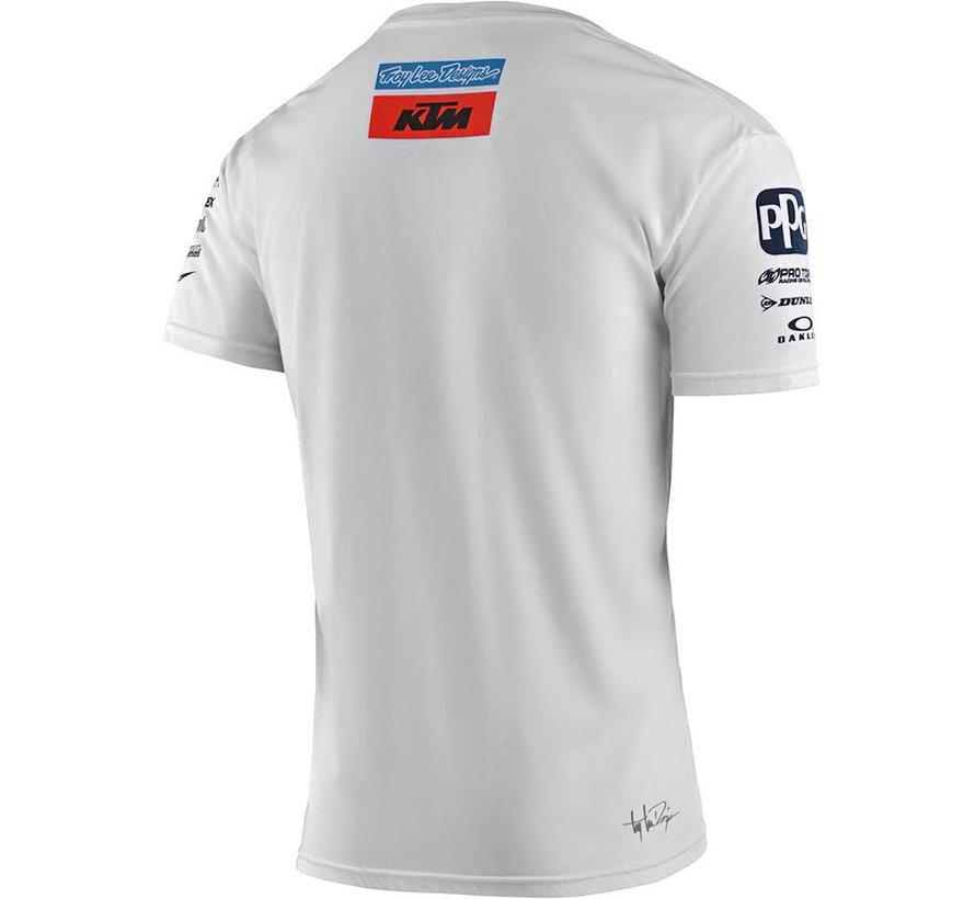 Herren T-Shirt Team KTM Tee weiss 2020