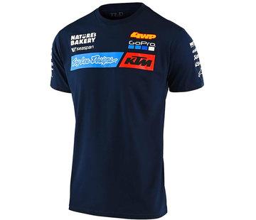 Troy Lee Designs Herren T-Shirt Team KTM Tee navy 2020