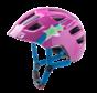 Jugend Kinder Fahrradhelm Maxster Purple Star glossy