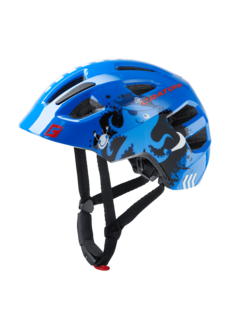 Cratoni Jugend Kinder Fahrradhelm Maxsterpirate blue glossy
