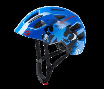 Cratoni Jugend Kinder Fahrradhelm Maxsterpirate blue glossy