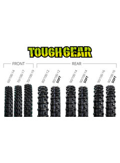 X-Grip Kids Reifen Toughgear 80/100-12