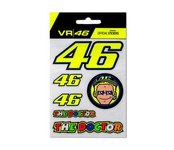 VR46 Valentino Rossi Sticker multi small #2340