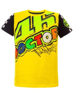 VR46 T-Shirt VR46 The-Doctor gelb Kid