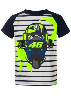 VR46 T-Shirt VR46 The-Doctor Kinder multi