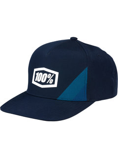 100 % Kinder Cap Youth Cornerstone Trucker Hat navy
