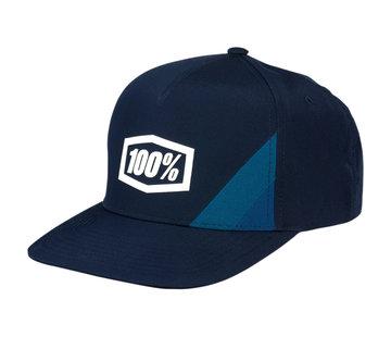 100 % Kinder Cap Youth Cornerstone Trucker Hat navy