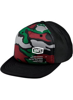 100 % Kinder Cap Youth Trooper Hat