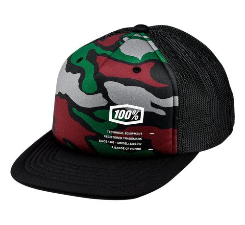 100 % Kinder Cap Youth Trooper Hat