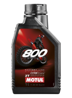 Motul 800 2T Factory Line Off Road vollsynthetisches Motorrad Motoröl