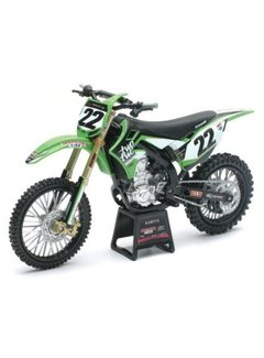 New Ray Kawasaki Racing Team Chad Reed (Nr. 22) 1:12 Modell