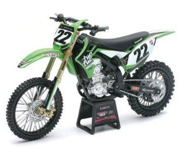 New Ray Kawasaki Racing Team Chad Reed (Nr. 22) 1:12 Modell