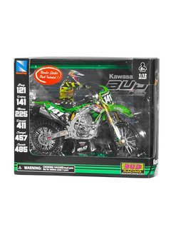 New Ray New Ray Kawasaki , #141, M.Desprey, Bud Racing, 1:12 Model Motorcycle