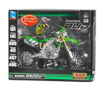 New Ray New Ray Kawasaki , #141, M.Desprey, Bud Racing, 1:12 Model Motorcycle