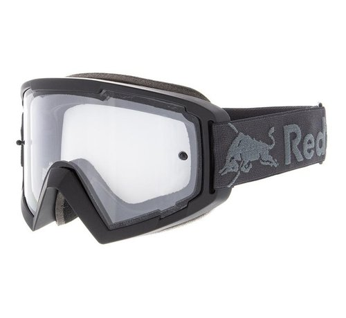 Spect Red Bull Whip MX Brille schwarz clear view